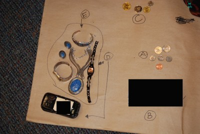 2011 Tucson Shooting Belongings Recovered - Photograph 2