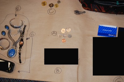 2011 Tucson Shooting Belongings Recovered - Photograph 1