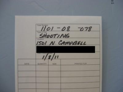 2011 Tucson Shooting Documentation - Photograph 555