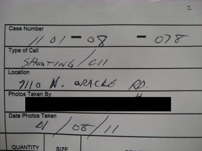 2011 Tucson Shooting Documentation - Photograph 554