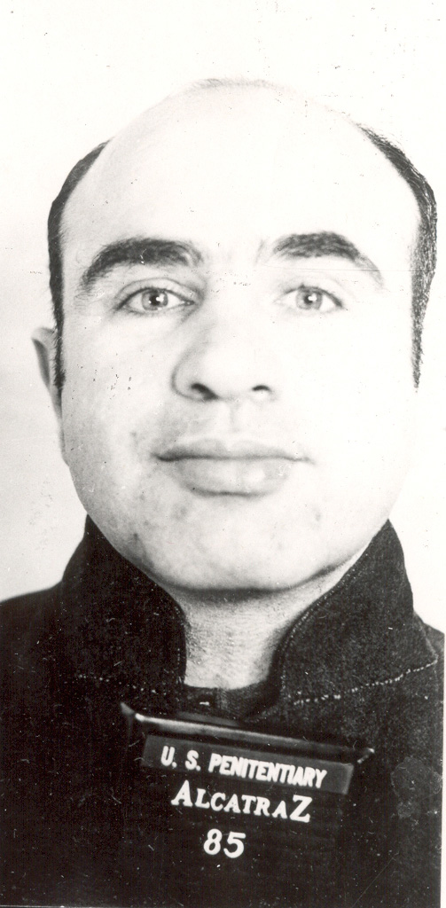 Al Capone Mug Shot Photo 2